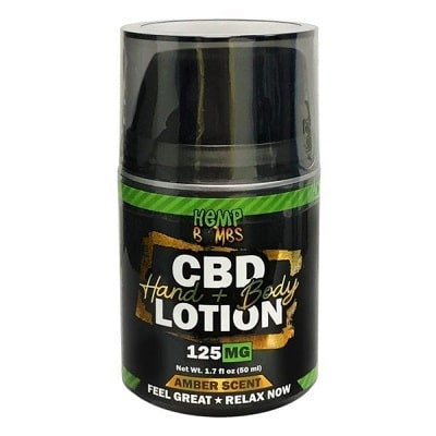 Best CBD Lotion - Hemp Bombs Hand & Body Lotion Review