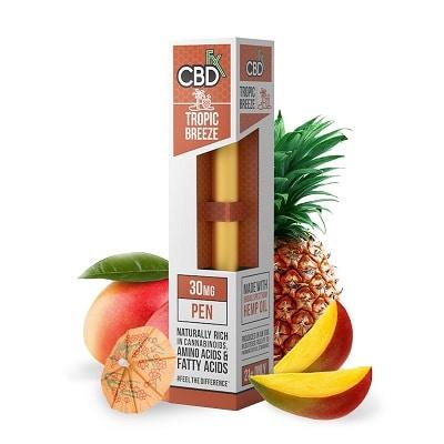 Best CBD Vape Pen - CBDfx Tropical Breeze Vape Pen Review
