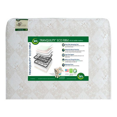 Best Crib Mattress - Serta Tranquility Eco Select Crib and Toddler Mattress