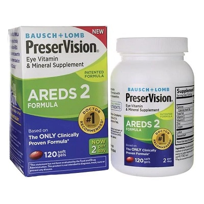 Best Eye Vitamins - Bausch+Lomb PreserVision AREDS 2 Review
