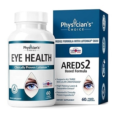 Best Eye Vitamins - Physician's Choice Eye Health Supplement Review