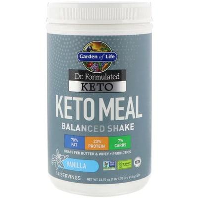 Best Keto Shake - Garden of Life Keto Meal Balanced Shake