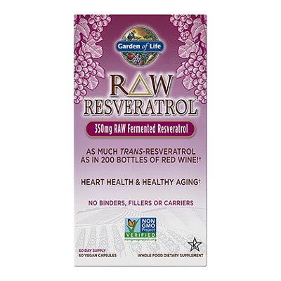 Best Resveratrol Supplements - Garden of Life RAW Resveratrol Review