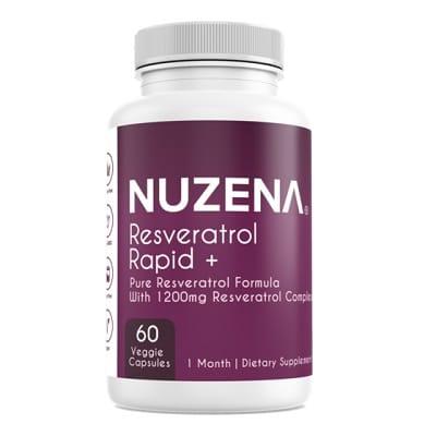 Best Resveratrol Supplements - Nuzena Resveratrol Rapid + Review
