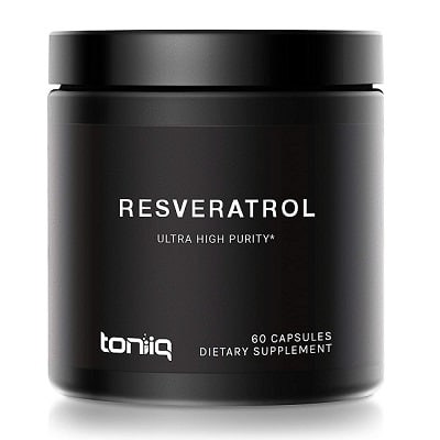 Best Resveratrol Supplements - Toniiq Resveratrol 98% Review