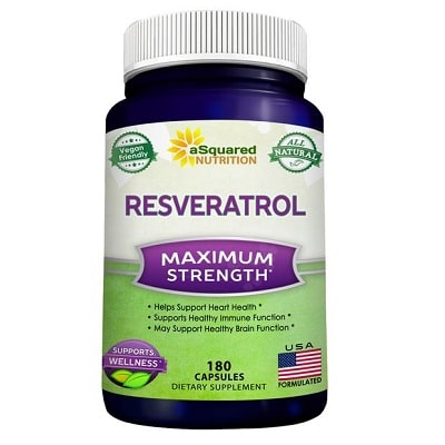 Best Resveratrol Supplements - aSquared Nutrition Resveratrol Review