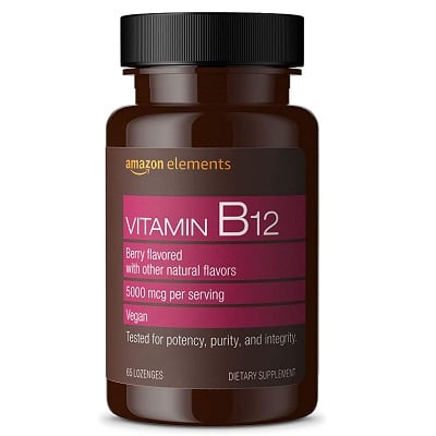 Best B12 Supplement - Amazon Elements Vitamin B12 Methylcobalamin Review