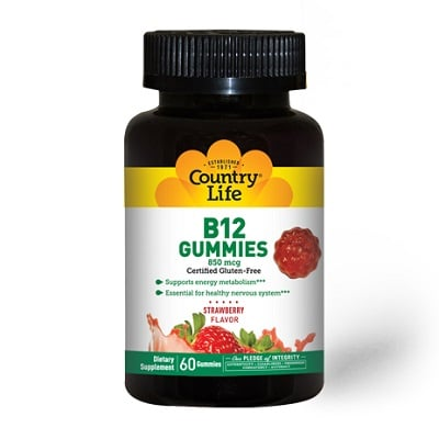 Best B12 Supplement - Country Life B12 Gummies Review