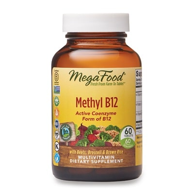 Best B12 Supplement - MegaFood Methyl B12 Review