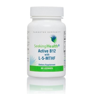 Best B12 Supplement - Seeking Health Active B12 with L-5-MTHF Review