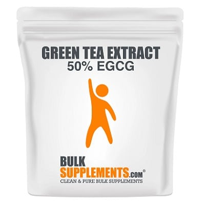 Best Green Tea Extract - Bulk Supplements Green Tea Extract Review