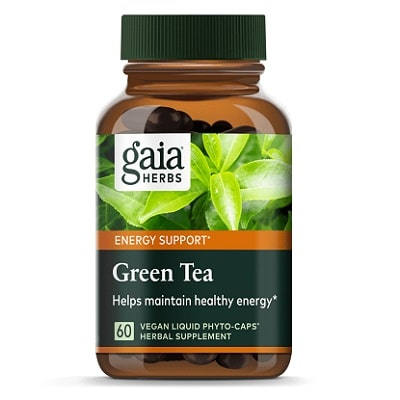 Best Green Tea Extract - Gaia Herbs Green Tea Review