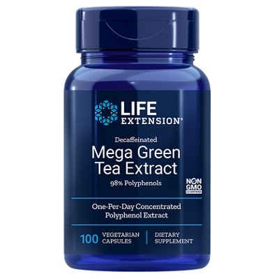 Best Green Tea Extract - Life Extension Mega Green Tea Extract Review