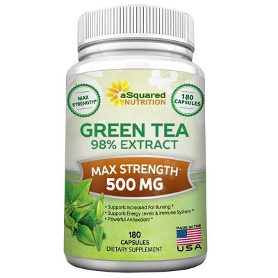 Best Green Tea Extract - aSquared Nutrition Green Tea Extract Review