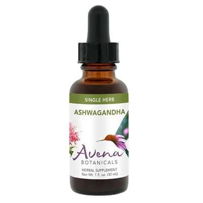 Best Ashwagandha Supplement - Avena Botanicals Ashwagandha Tincture Review