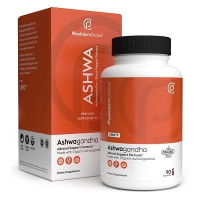 Best Ashwagandha Supplement - Physician's Choice Organic Ashwagandha Review