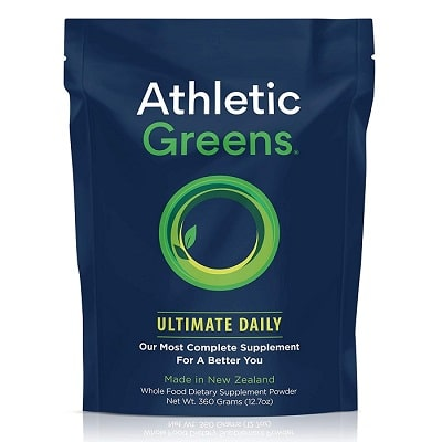 Best Spirulina Supplement - Athletic Greens Ultimate Daily Greens Powder Review