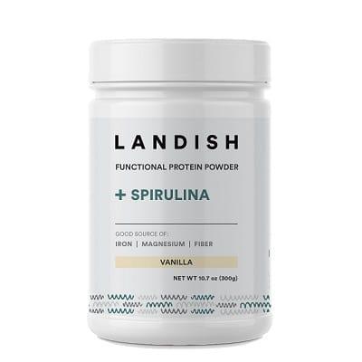 Best Spirulina Supplement - Landish California Spirulina Nutritional Shake Review