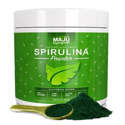 Best Spirulina Supplement - MAJU Spirulina Powder Review