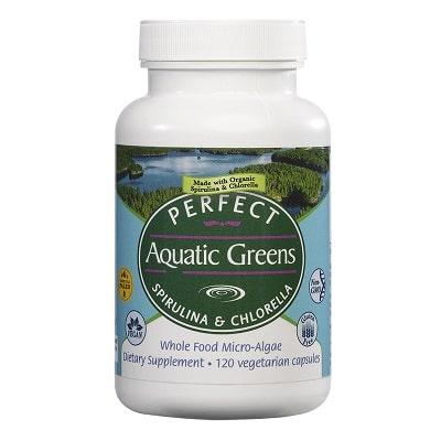 Best Spirulina Supplement - Perfect Supplements Perfect Aquatic Greens Spirulina and Chlorella Capsules Review