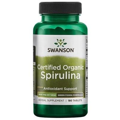 Best Spirulina Supplement - Swanson Certified Organic Spirulina Review