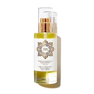 Best Argan Oil - REN Clean Skincare Moroccan Rose Gold Glow Perfect Dry Oil Review