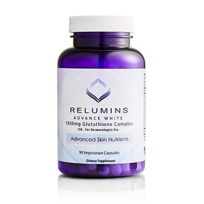 Best Glutathione Pills - Relumins Advance White 1650 mg Glutathione Complex Review