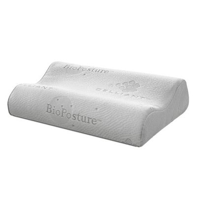Best Pillow for Neck Pain - BioPosture BioMemoryFoam Cervical (Wave) Pillow Review