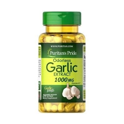 Best Garlic Supplement - Puritan's Pride Odorless Garlic Extract Review