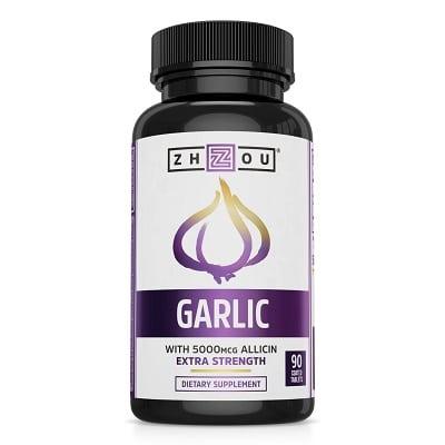 Best Garlic Supplement - Zhou Nutrition Garlic + Allicin Review