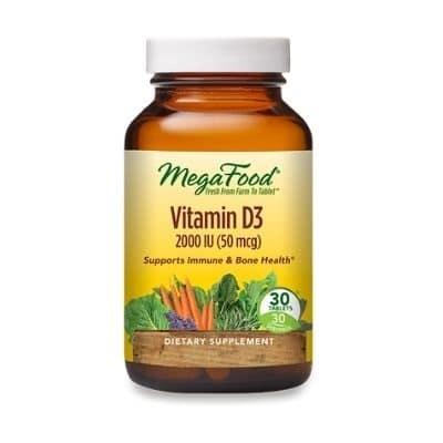Best Vitamin D Supplements - MegaFood Vitamin D-3 2000 IU Review