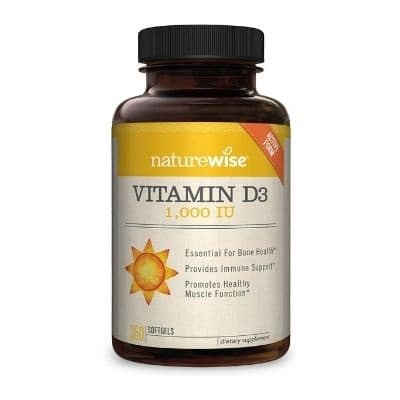 Best Vitamin D Supplements - NatureWise Vitamin D3 Review