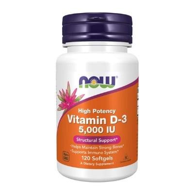 Best Vitamin D Supplements - Now Foods Vitamin D3 5,000 IU Softgels Review