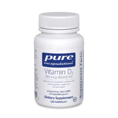 Best Vitamin D Supplements - Pure Encapsulations Vitamin D3 250 mcg Review