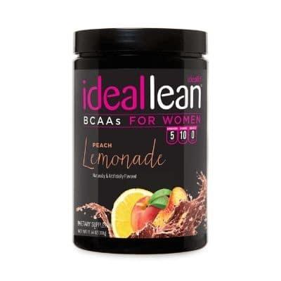 Best BCAA Supplement - IdealFit IdealLean BCAAs Peach Lemonade Review