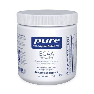 Best BCAA Supplement - Pure Encapsulations BCAA Powder Review