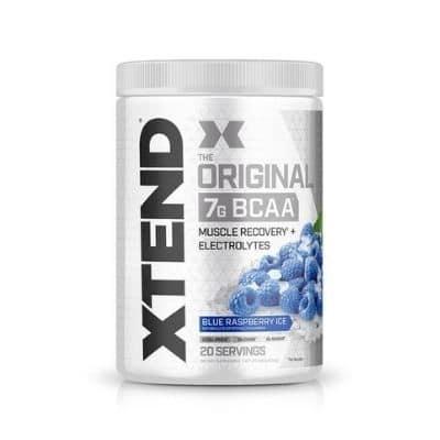 Best BCAA Supplement - XTEND Original Blue Raspberry Ice Review