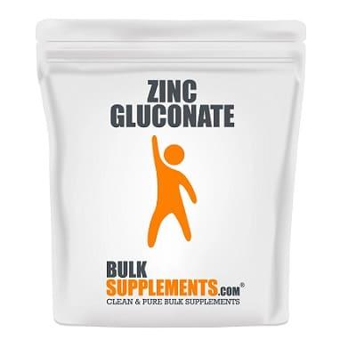 Best Zinc Supplement - BulkSupplements Zinc Gluconate Powder Review