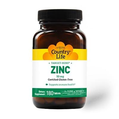 Best Zinc Supplement - Country Life Target Mins Zinc Review
