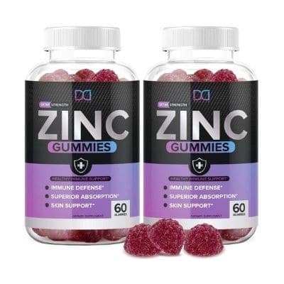 Best Zinc Supplement - Dakota Nutrition Extra Strength Zinc Gummies Review