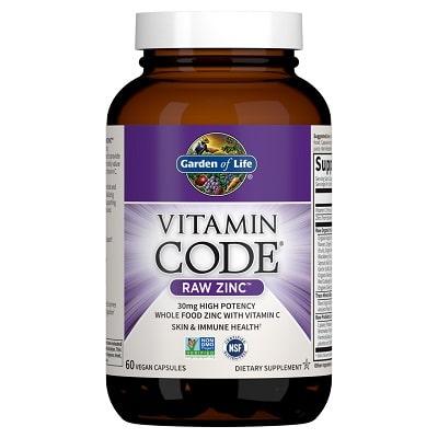 Best Zinc Supplement - Garden of Life Vitamin Code Raw Zinc Review