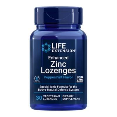Best Zinc Supplement - Life Extension Enhanced Zinc Lozenges Review