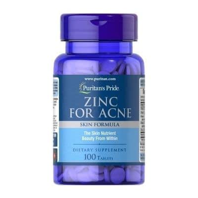 Best Zinc Supplement - Puritan's Pride Zinc for Acne Review