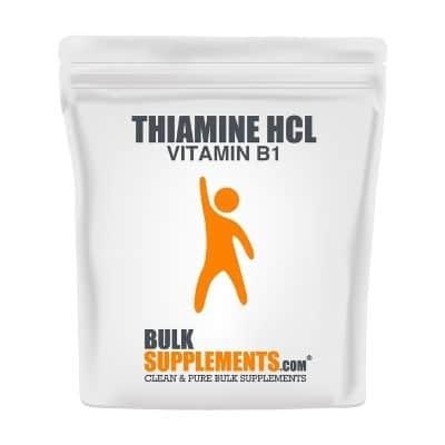 Best B1 Supplement - BulkSupplements Thiamine HCl Powder Review