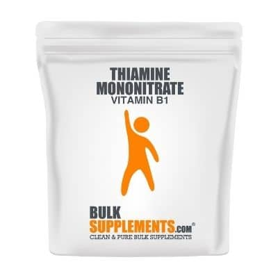 Best B1 Supplement - BulkSupplements Thiamine Mononitrate Vitamin B1 Review