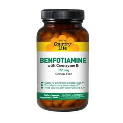 Best B1 Supplement - Country Life Vitamin B1 With Benfotiamine Review