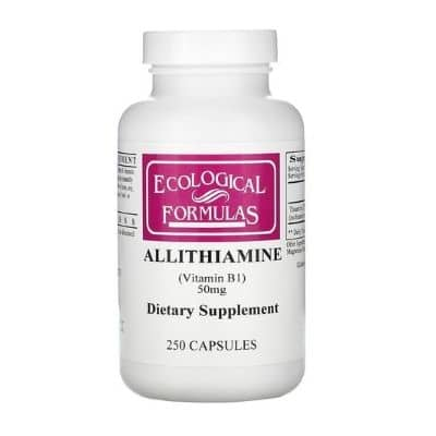Best B1 Supplement - Ecological Formulas Allithiamine (Vitamin B1) Review