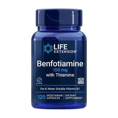 Best B1 Supplement - Life Extension Benfotiamine With Thiamine Review
