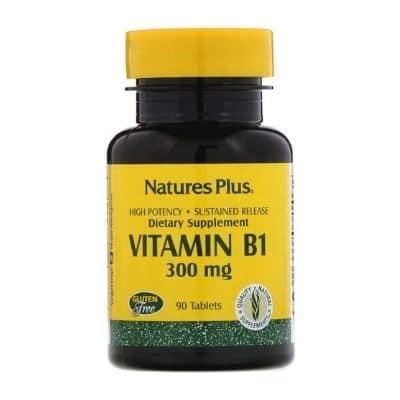 Best B1 Supplement - Nature's Plus Vitamin B1 Review
