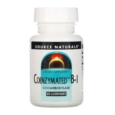 Best B1 Supplement - Source Naturals Coenzymated B1 Review